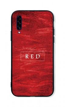 Zadní pevný kryt LUXURY na Samsung A30s Red