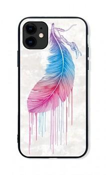 Zadní pevný kryt LUXURY na iPhone 11 Feather