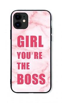 Zadní pevný kryt LUXURY na iPhone 11 Girl Boss