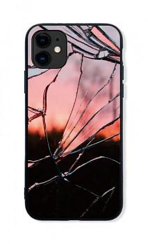 Zadní pevný kryt LUXURY na iPhone 11 Pink Broken