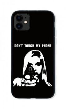 Zadní pevný kryt LUXURY na iPhone 11 Don´t Touch Gun
