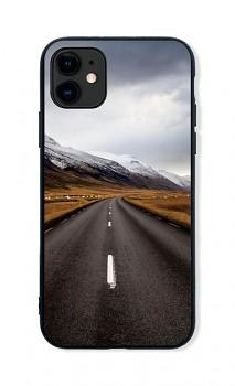 Zadní pevný kryt LUXURY na iPhone 11 Horská cesta