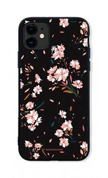 Zadní pevný kryt LUXURY na iPhone 11 Cherry Blossom