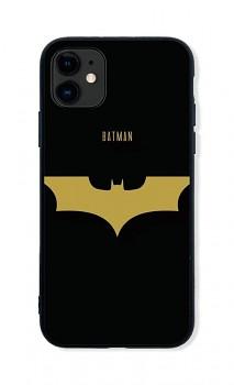 Zadní pevný kryt LUXURY na iPhone 11 Gold Batman