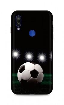 Zadní silikonový kryt DARK na Xiaomi Redmi Note 7 Football