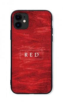 Zadní pevný kryt LUXURY na iPhone 11 Red