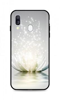 Zadní silikonový kryt DARK na Samsung A40 Waterlily