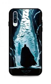 Zadní silikonový kryt DARK na Samsung A50 Dark Batman