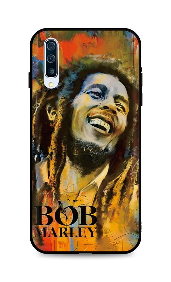 Kryt TopQ DARK Samsung A50 silikon Bob Marley 45591 (pouzdro neboli obal na mobil Samsung A50) Miss Sixty