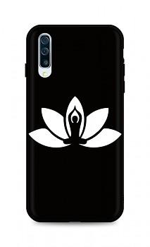 Zadní silikonový kryt DARK na Samsung A50 Yoga