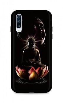 Zadní silikonový kryt DARK na Samsung A50 Meditation