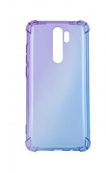 Zadní silikonový kryt na Xiaomi Redmi Note 8 Pro Shock duhový fialovo-modrý