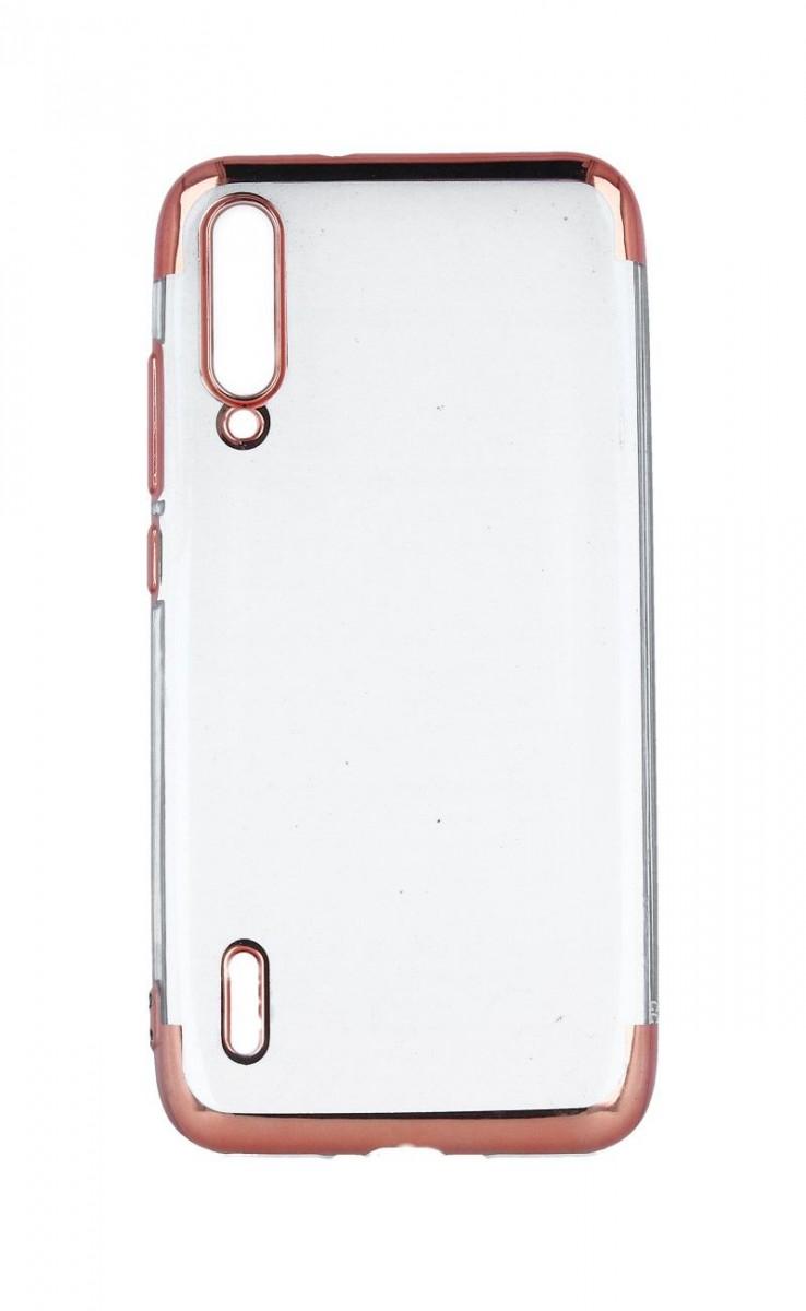 Zadní silikonový kryt na Xiaomi Mi A3 Frame růžový