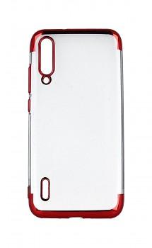 Zadní silikonový kryt na Xiaomi Mi A3 Frame červený