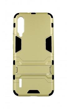 Ultra odolný zadní kryt na Xiaomi Mi A3 se stojánkem zlatý