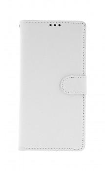 Knížkové pouzdro na Xiaomi Redmi Note 8 Pro bílé s přezkou