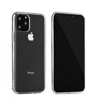 Ultratenký silikonový kryt na iPhone 11 Pro 0,5 mm průhledný