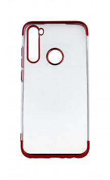 Zadní silikonový kryt na Xiaomi Redmi Note 8 Frame červený