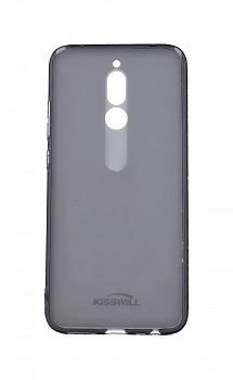 Zadní silikonový kryt KISSWILL na Xiaomi Redmi 8 tmavý