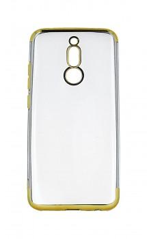 Zadní silikonový kryt na Xiaomi Redmi 8 Frame zlatý