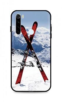 Zadní silikonový kryt DARK na Xiaomi Redmi Note 8T Skiing