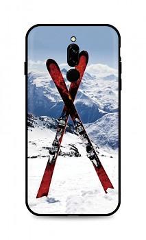 Zadní silikonový kryt DARK na Xiaomi Redmi 8 Skiing