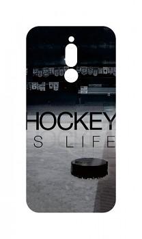 Zadní silikonový kryt DARK na Xiaomi Redmi 8 Hockey Is Life