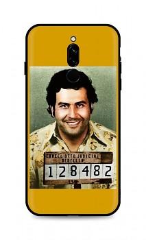 Zadní silikonový kryt DARK na Xiaomi Redmi 8 Pablo Escobar