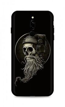 Zadní silikonový kryt DARK na Xiaomi Redmi 8 Music Skeleton