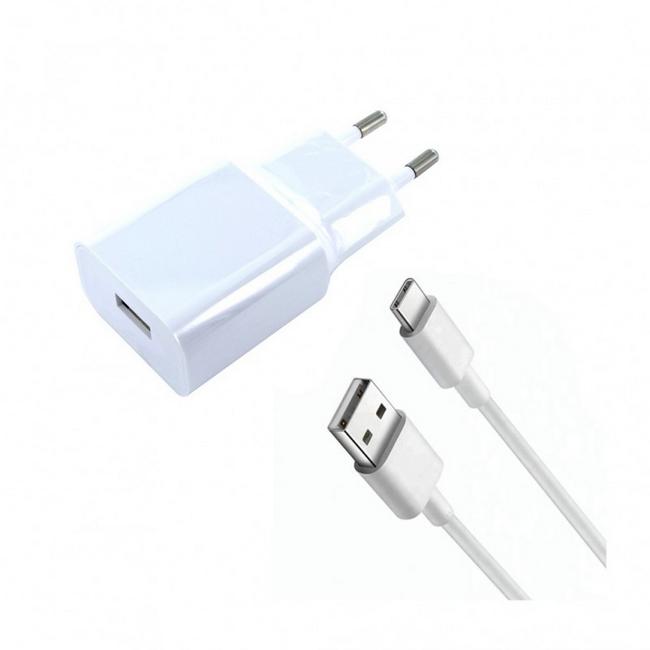Originální nabíječka Xiaomi MDY-08-EO + USB-C (Type-C) datový kabel bílá 46846