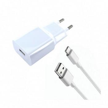 Originální nabíječka Xiaomi MDY-08-EO + USB-C (Type-C) datový kabel bílá