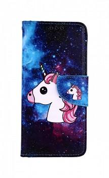 Knížkové pouzdro na Xiaomi Redmi Note 8T Space Unicorn