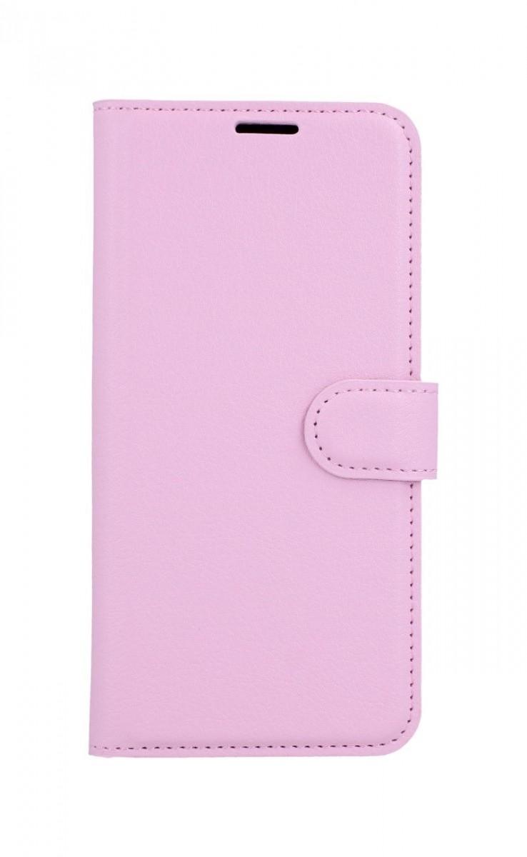 Pouzdro TopQ Xiaomi Redmi Note 8T knížkové světle růžovés přezkou 46883 (kryt neboli obal Xiaomi Redmi Note 8T)
