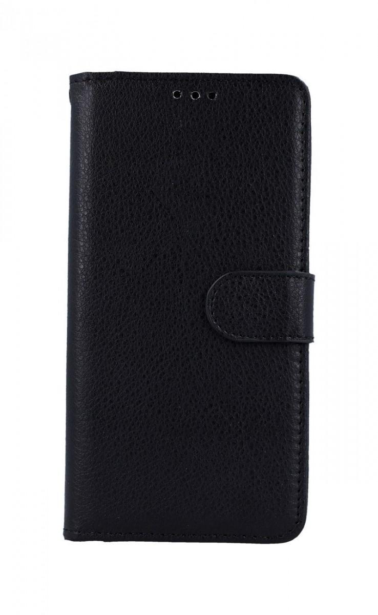 Pouzdro TopQ Xiaomi Redmi Note 8T knížkové černé s přezkou 46886 (kryt neboli obal Xiaomi Redmi Note 8T)