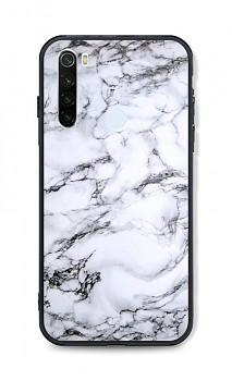 Zadní pevný kryt LUXURY na Xiaomi Redmi Note 8T Marble White