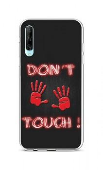 Zadní silikonový kryt na Huawei P Smart Pro Don´t Touch Red