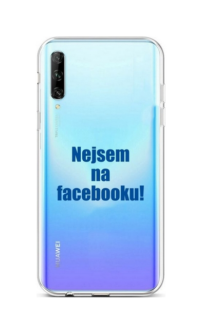 Kryt TopQ Huawei P Smart Pro silikon Nejsem na Facebooku 46947 (pouzdro neboli obal na mobil Huawei P Smart Pro)