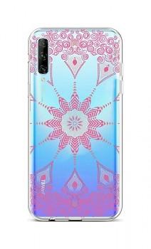 Zadní silikonový kryt na Huawei P Smart Pro Pink Mandala