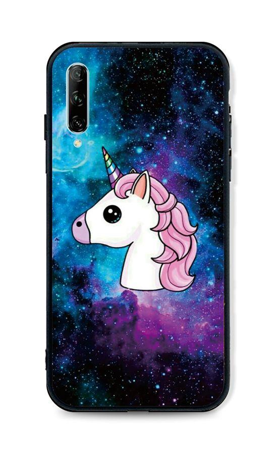 Zadní pevný kryt LUXURY na Huawei P Smart Pro Space Unicorn