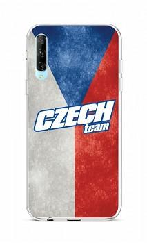 Zadní silikonový kryt na Huawei P Smart Pro Czech Team