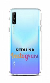 Zadní silikonový kryt na Huawei P Smart Pro Instagram