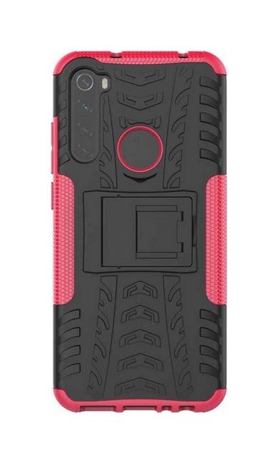 Kryt TopQ Xiaomi Redmi Note 8T růžový se stojánkem (pouzdro neboli obal Xiaomi Redmi Note 8T) 47152