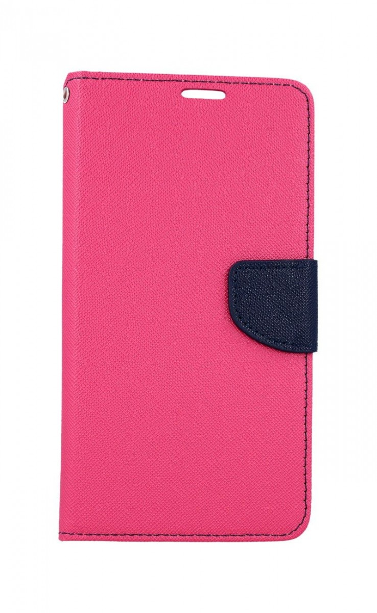 Knížkové pouzdro na Samsung A80 růžové
