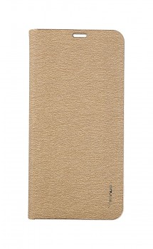 Knížkové pouzdro Luna Book na Samsung A80 zlaté