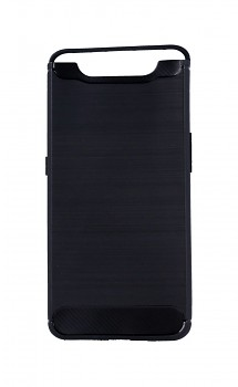Zadní silikonový kryt na Samsung A80 černý
