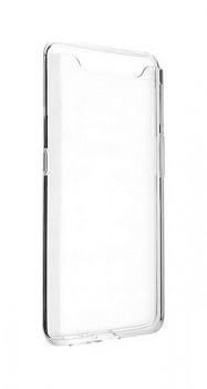 Zadní silikonový kryt na Samsung A80 2 mm průhledný