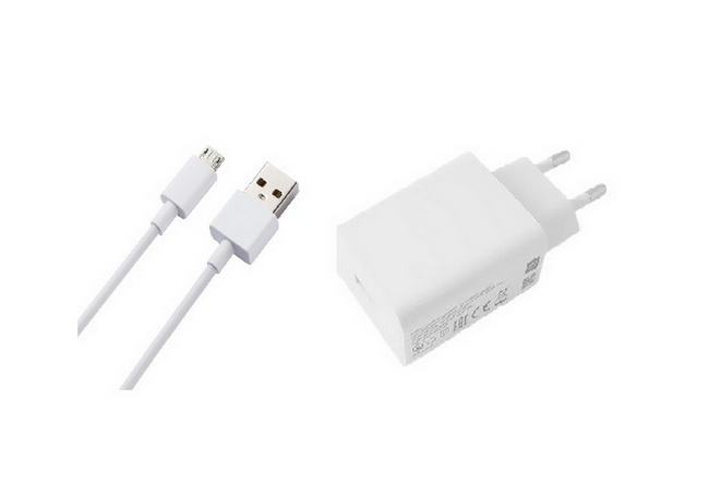 Originální nabíječka Xiaomi MDY-10-EF + micro USB datový kabel bílá 3A 47289