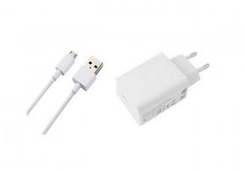 Originální nabíječka Xiaomi MDY-10-EF + micro USB datový kabel bílá 3A