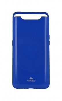 Zadní silikonový kryt Mercury Jelly Case na Samsung A80 modrý