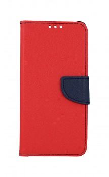 Knížkové pouzdro na Samsung A80 červené